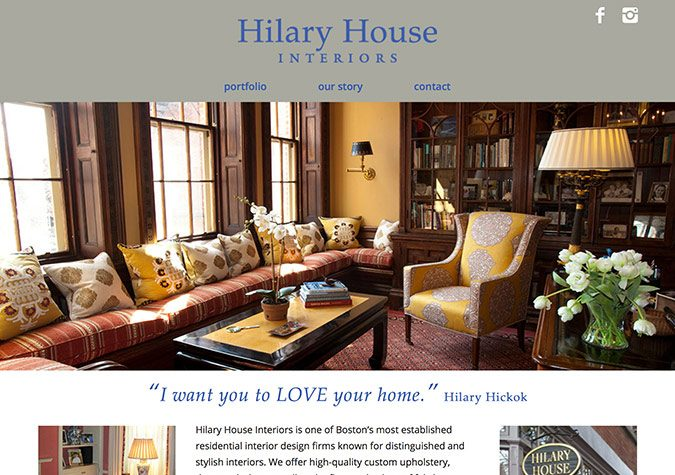 Hilary House Interiors - Everett Design