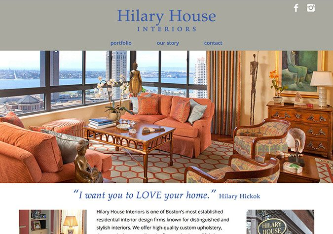 Hilary House Interiors · Dermatologic Surgery Center · Boston Spring  Festival · Friends Of Fairsted
